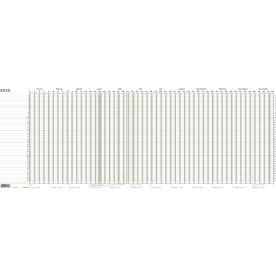 Mayland Projekt Planner 2021 kalender, blå