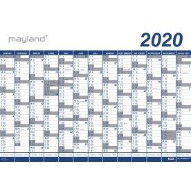 Mayland Kæmpekalender 2020, 1x13 mdr., vinyl, rør