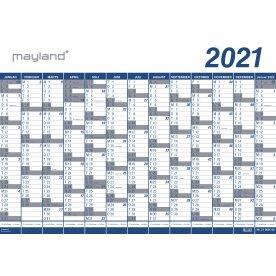 Mayland Kæmpekalender 2021, 1x13 mdr., vinyl, rør