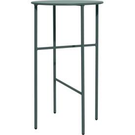 Pesetos bord, Ø40 x H70 cm, grågrøn