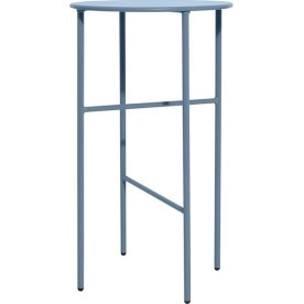 Pesetos bord, Ø40 x H70 cm, lyseblå