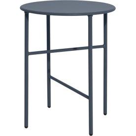 Pesetos bord, Ø40 x H50 cm, måneblå