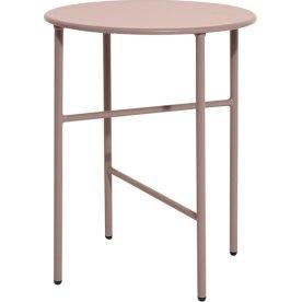 Pesetos bord, Ø40 x H50 cm, rose