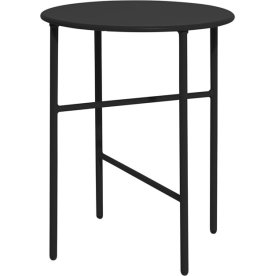 Pesetos bord, Ø40 x H50 cm, sort