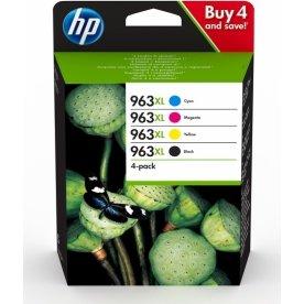 HP nr. 963/3YP35AE XL B/C/M/Y blækpatron, sampak