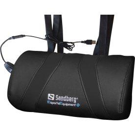 Sandberg USB Massagepude, sort