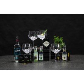 Gavepakke med Propeller & Hendrick's Gin, 18 dele