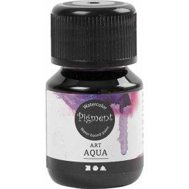 Pigment Flydende Akvarelmaling, 30 ml, rødviolet