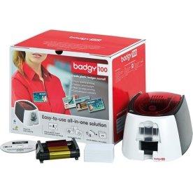 Evolis Badgy100 plastkortprinter, farve