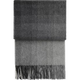Elvang Horizon Plaid, 130 x 200 cm, grå/hvid