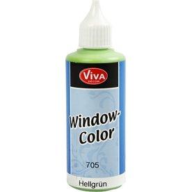 Viva Decor Vinduesmaling, 80 ml, lys grøn