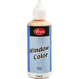 Viva Decor Vinduesmaling, 80 ml, lys hudfarvet