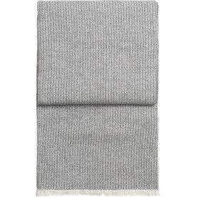 Elvang Bricks Plaid, 130 x 190 cm, grå/hvid