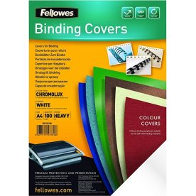 Fellowes Binding Covers A4, hvid