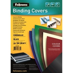 Fellowes Binding Covers A4, sort