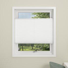 Debel Flex Plisségardin, 70x130 cm, Hvid