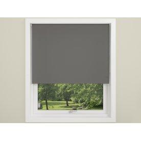Debel Uni Ensfarvet Rullegardin, 80x175 cm, Grå