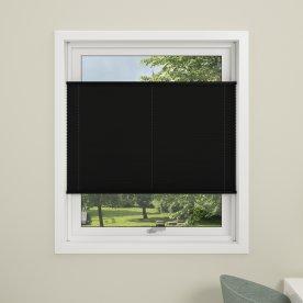 Debel Flex Plisségardin, 120x130 cm, Sort