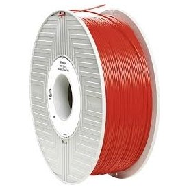 Verbatim 3D Filament ABS, 1.75mm, rød, 1kg