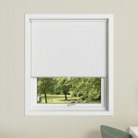 Debel Soft Roll Rullegardin, Mørkl, 140x175cm Hvid