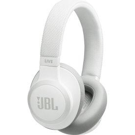 JBL LIVE 650BTNC trådløse hovedtelefoner, hvid