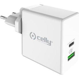 Celly Pro Power Strømforsyningsadapter, hvid