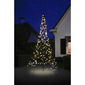 Fairybell juletræ m/ 360 LED lys, varm hvid, H 3 m