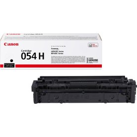 Canon 054 H lasertoner, sort, 2.300 sider