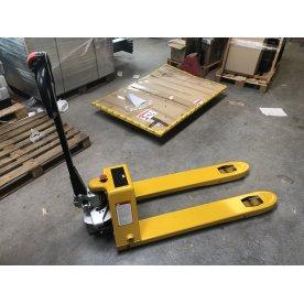 Semi-elektrisk palleløfter 115x54 cm