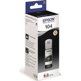 Epson T104 EcoTank blækpatron, sort
