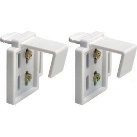 Debel EasyFit beslag t/ PVC vinduer, Hvid
