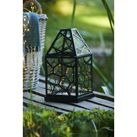 Alfred LED lanterne, Sort, H 23 x B 12 x D 12 cm