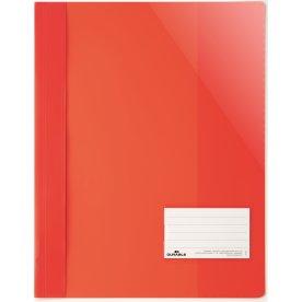 Durable Clear View Tilbudsmappe, rød