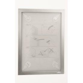 Durable Wallpaper Inforamme A4, sølv