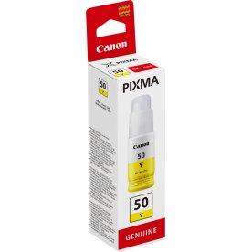 Canon GI-50 blæktank, gul, 7.700s