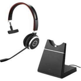 Jabra Evolve 65 MS Mono Headset med opladerstander