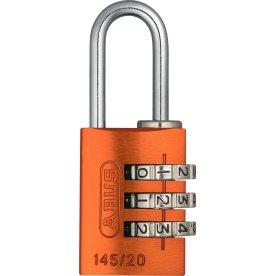 ABUS kodelås 145/20, Orange