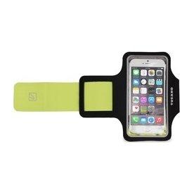 "Tucano Smartphone sportsarmbånd 5"", sort/grøn"