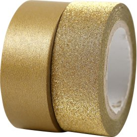 Vivi Gade Designtape 15 mm, 2 rl, guld