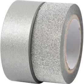 Vivi Gade Designtape 15 mm, 2 rl, sølv