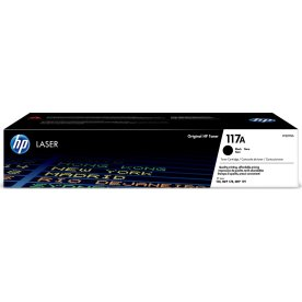 HP 117A laserpatroner, sort