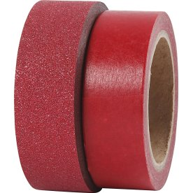 Vivi Gade Designtape 15 mm, 2 rl, rød
