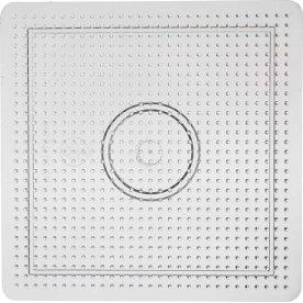Perleplade, 14,5x14,5 cm, stort kvadrat, 10 stk