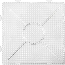PhotoPearls Perleplade 15x15cm, samlekvadrat, 2stk