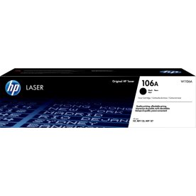 HP 106A / W1106A lasertoner, sort