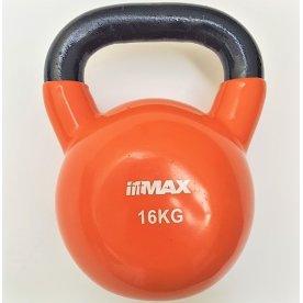 Titan Life kettlebell 16 kg, Orange, Vinyl