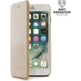 Tucano iPhone 7/8 Plus Dueinuno cover, guld
