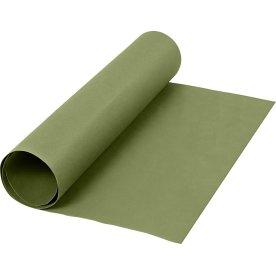 Læderpapir, 350g/m2, 50x100 cm, grøn