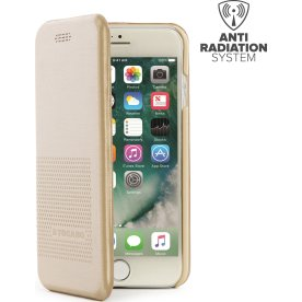Tucano iPhone 7/8 Dueinuno magnetisk cover, guld
