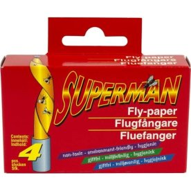 Superman Fluefanger, 5 stk.